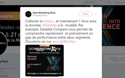 DataMa at the Data Marketing show in Paris